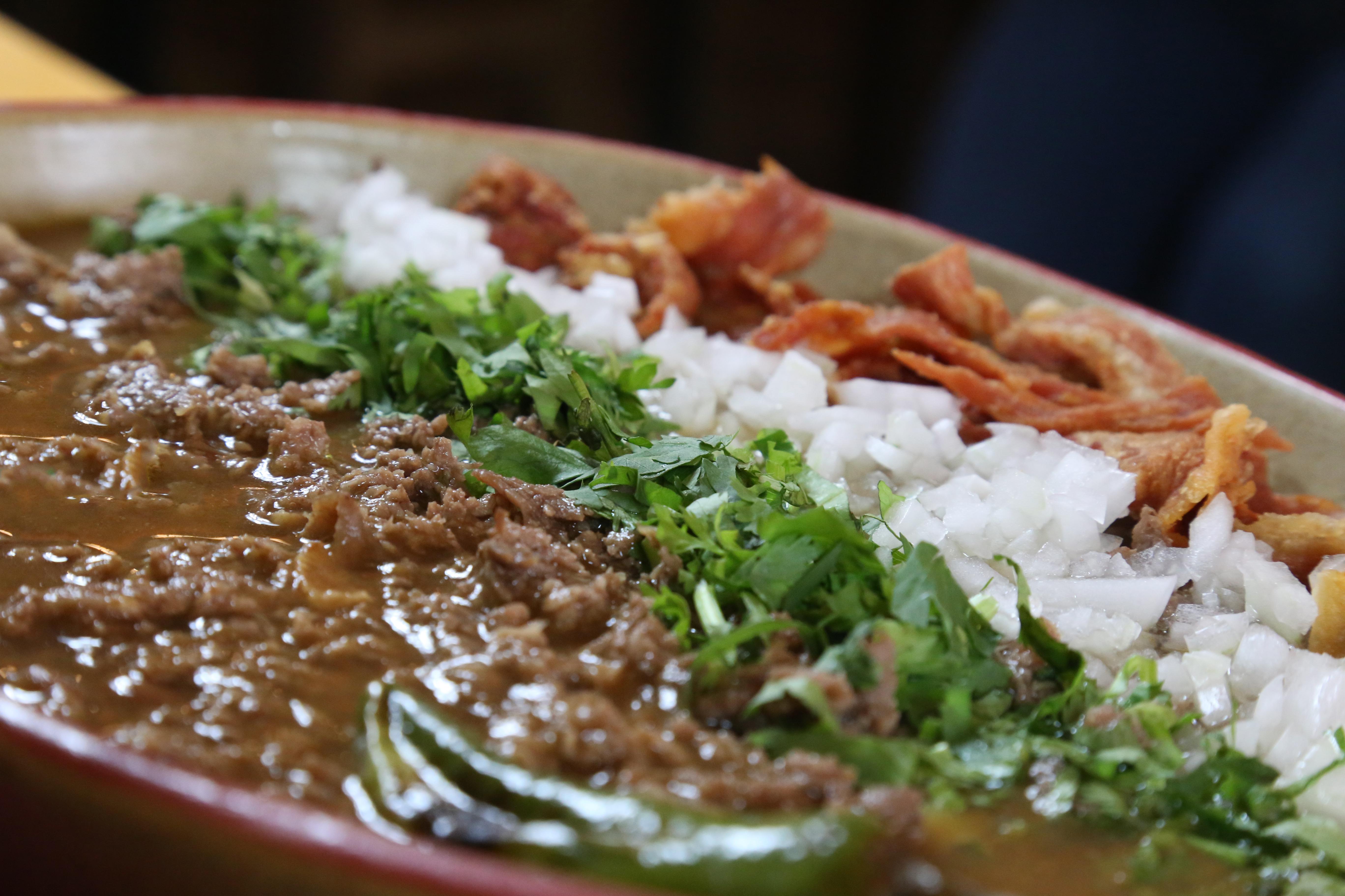 Carne en su jugo, comida de Jalisco.