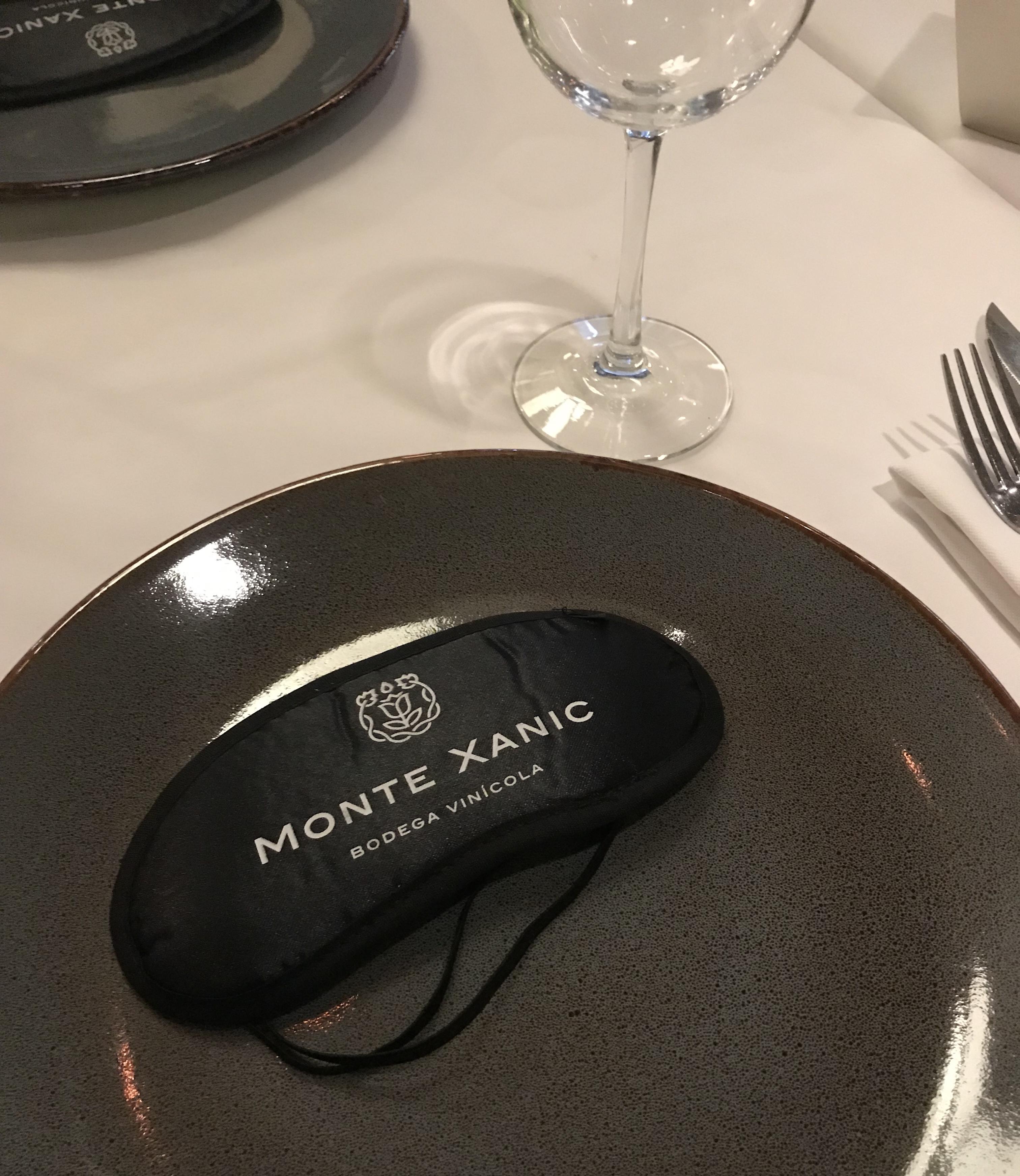 Cena a ciegas con Monte Xanic