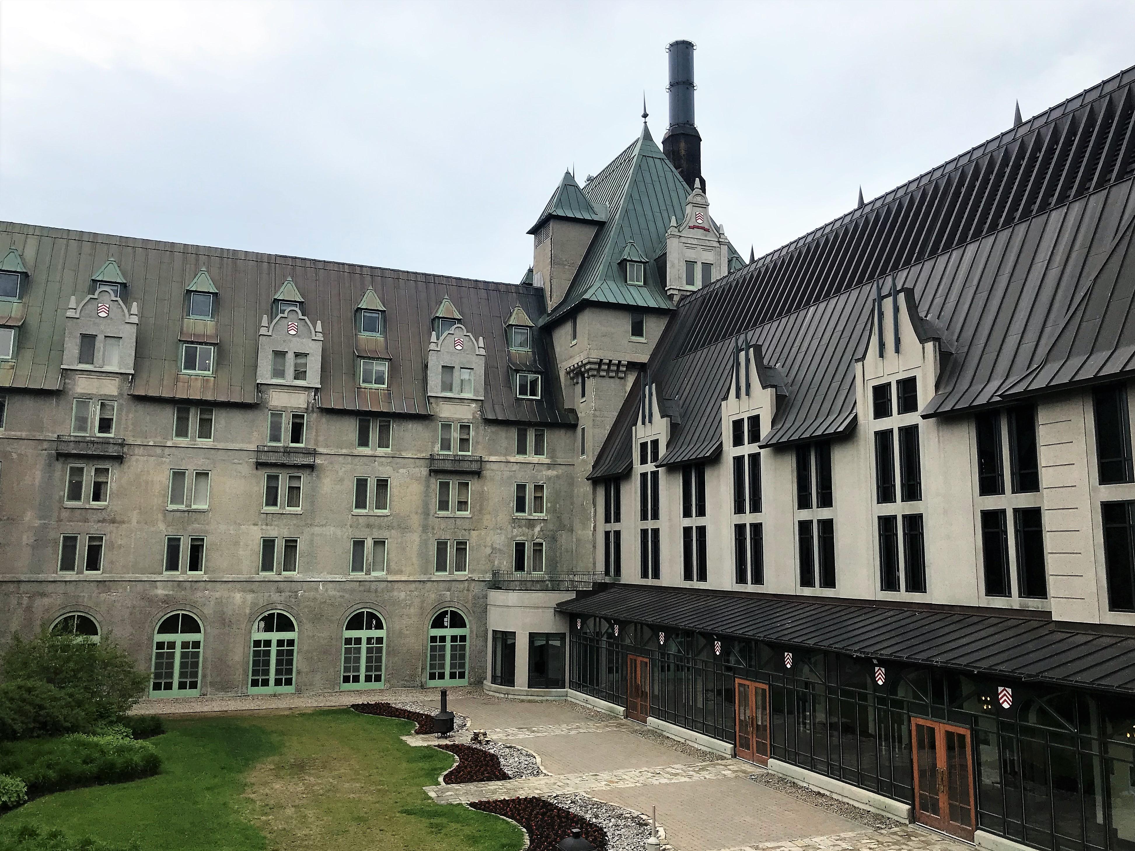 Hotel Fairmont en la ruta del sabor de Charlevoix, Quebec.