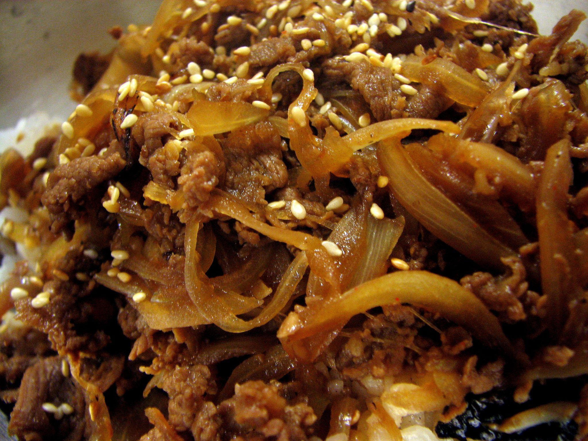 Bulgogi comida coreana