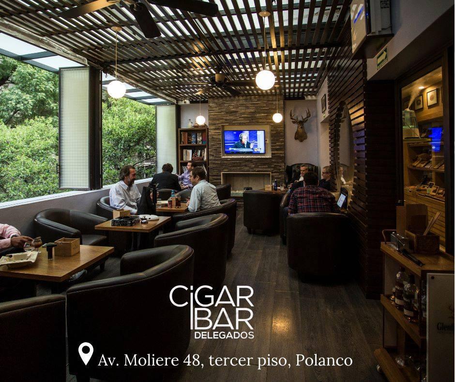 Bares de Cigarro, Cigar Bar Delegados.