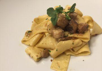 pasta fresca del tour gastronómico en los restaurantes de la cdmx