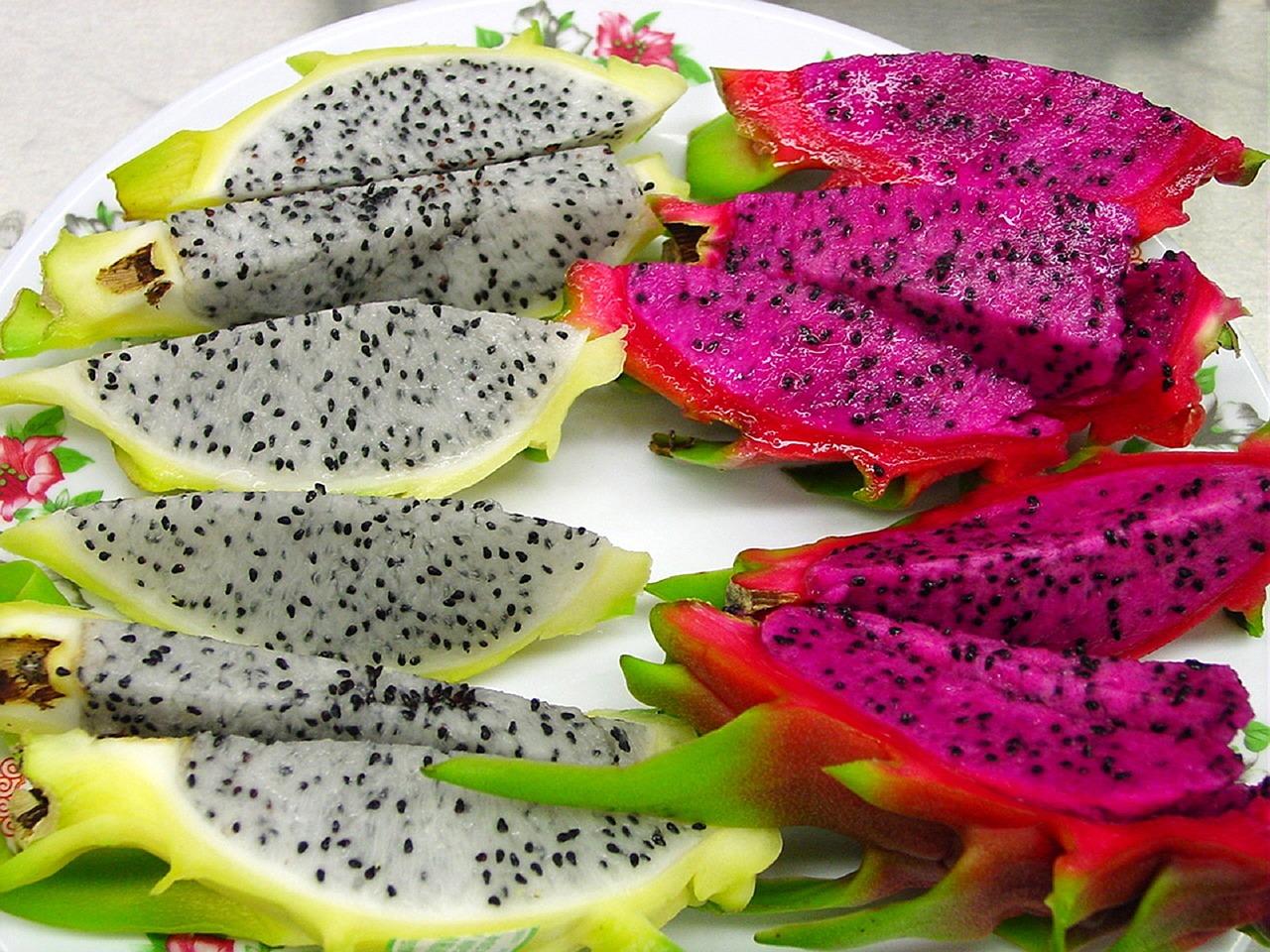 Pitahaya es una de las frutas exóticas.