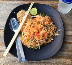receta de pad thai cocina tailandesa