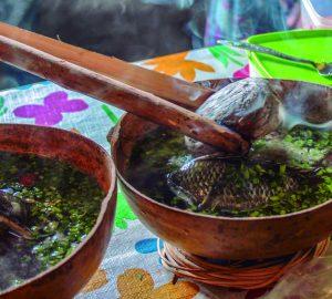 Platillos de La Chinantla, cocina oaxaqueña