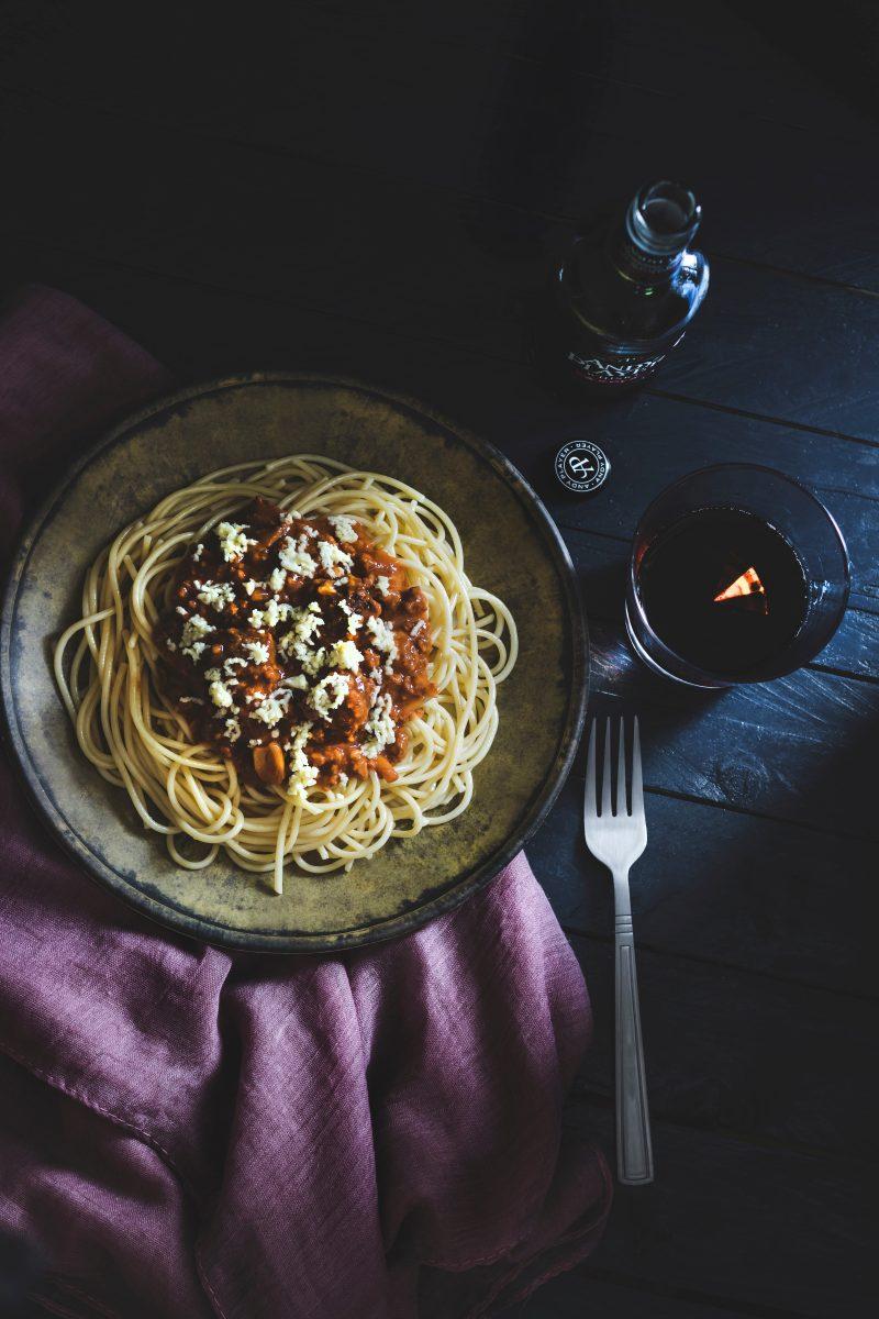 pasta boloñesa