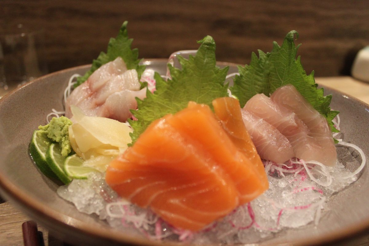 wabi sushi cocinar pescado