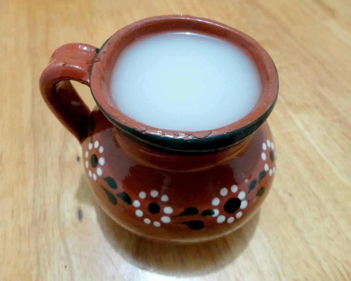 Atole agrio. Bebidas tradicionales de chiapas