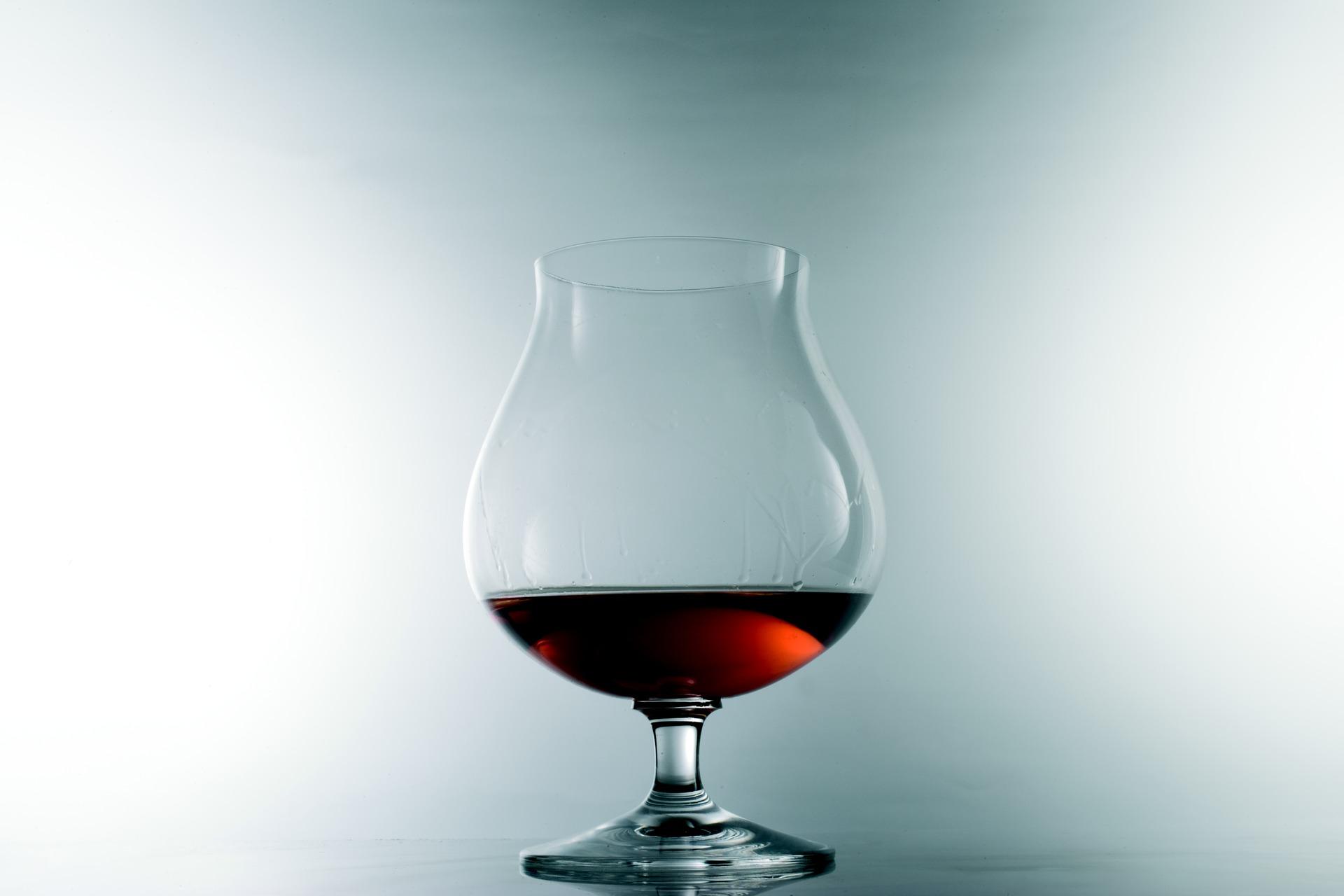 Copas y vasos para cocteles