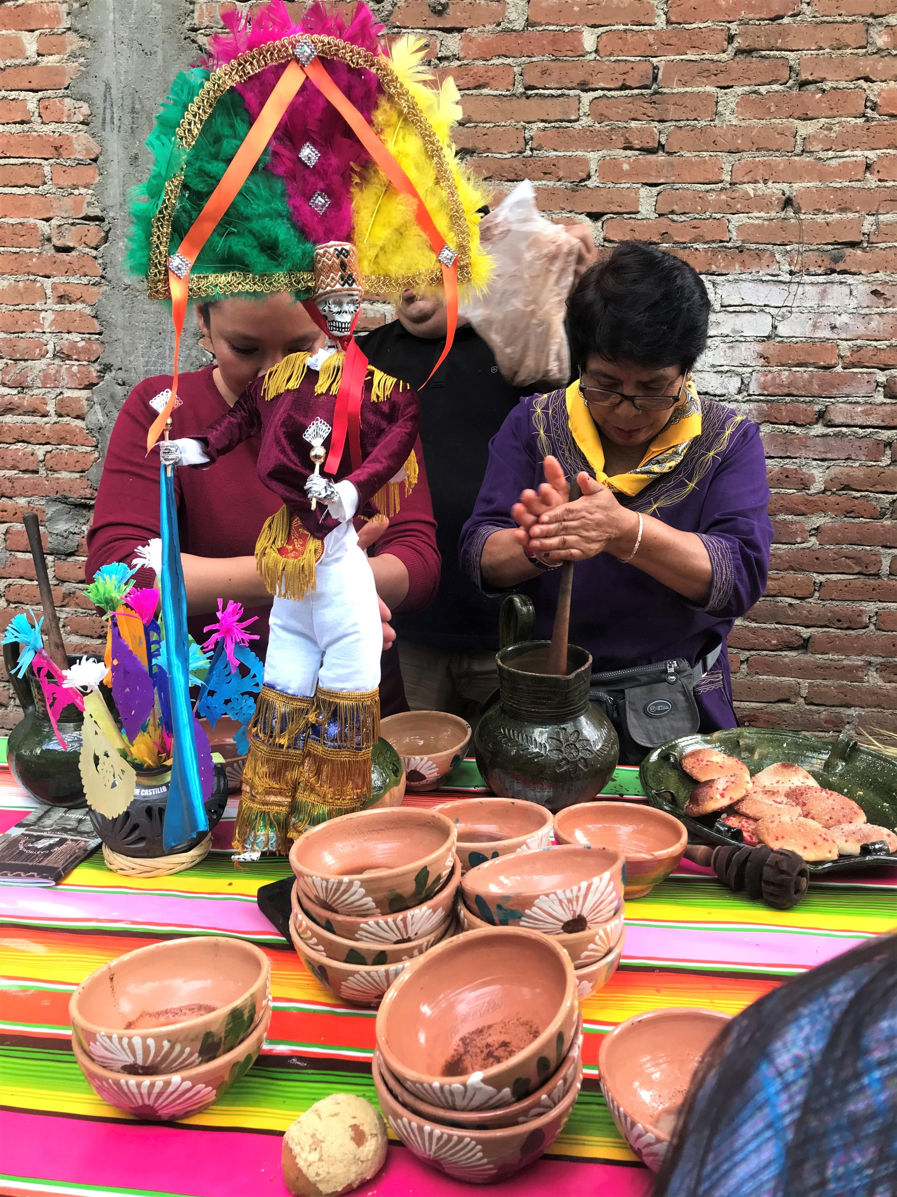 recorrido de comida tradicional barrio jalatlaco oaxaca