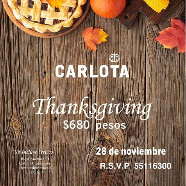cena de thanksgiving