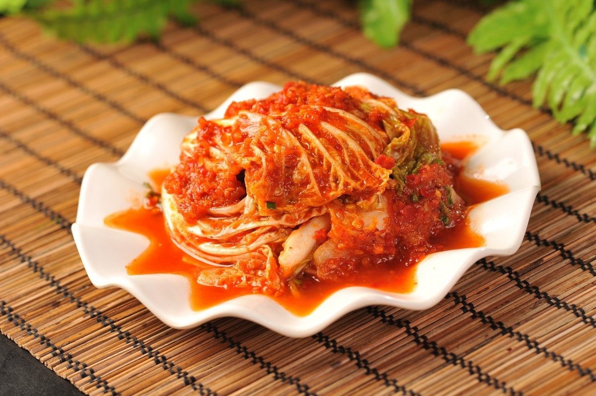 kimchi, comida coreana