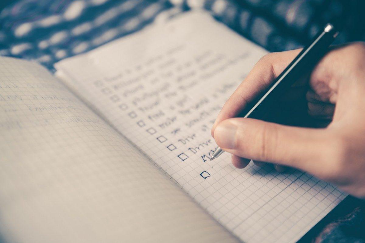 fiesta de fin de año checklist