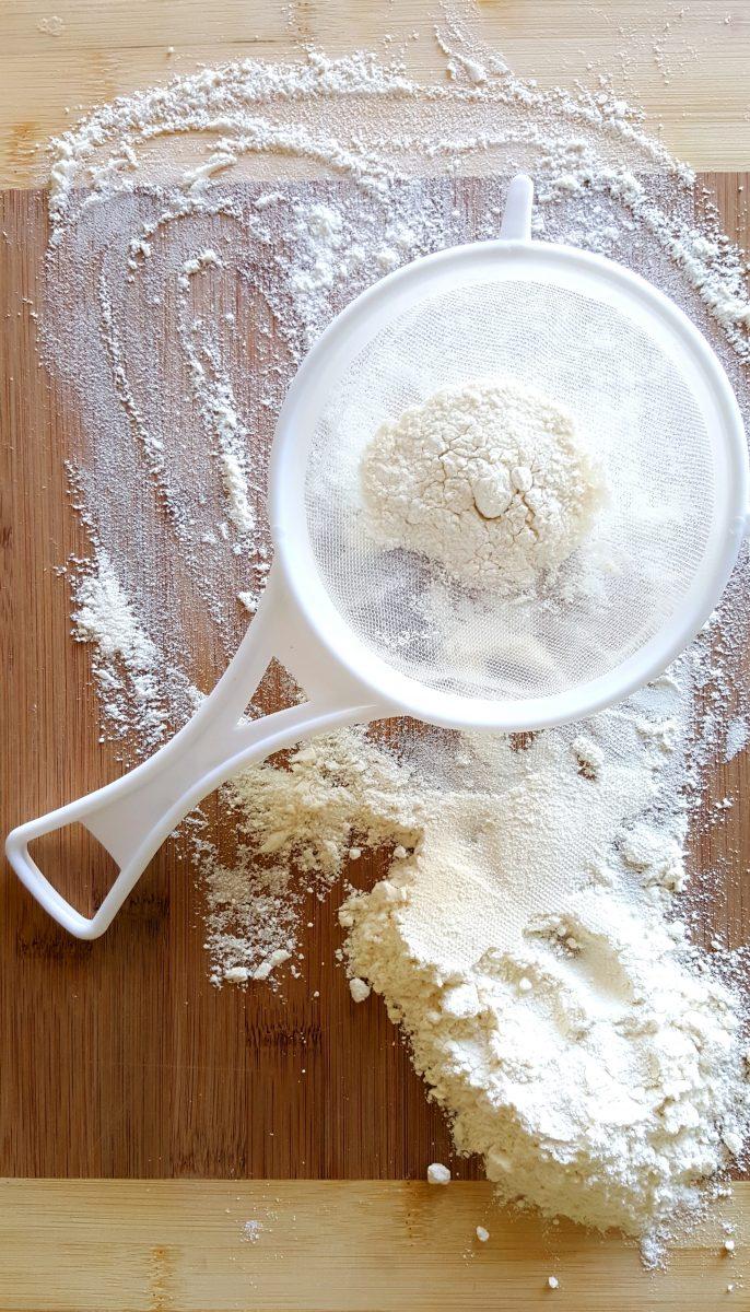 cernidor de harina de trigo