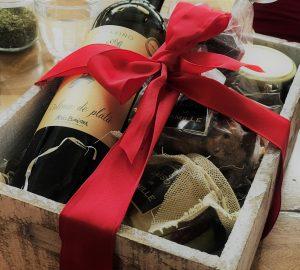 canastas de regalo navideñas