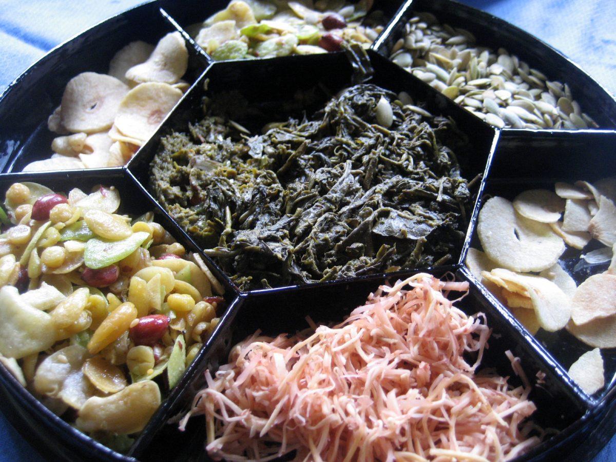hojas de té para cocinar