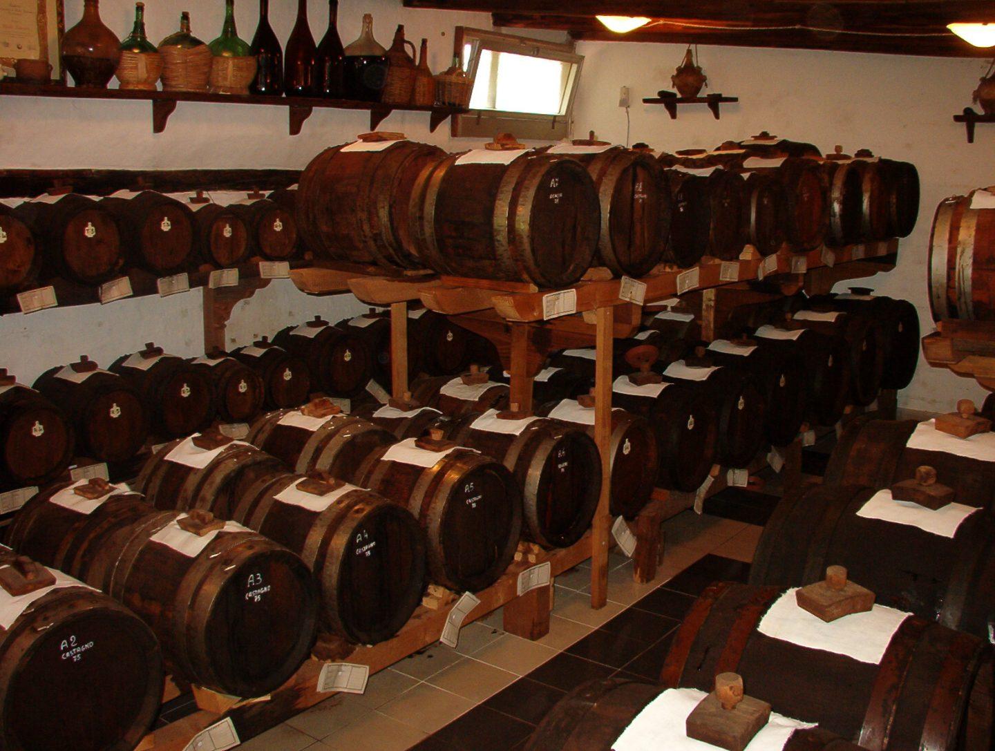 barricas de vinagre