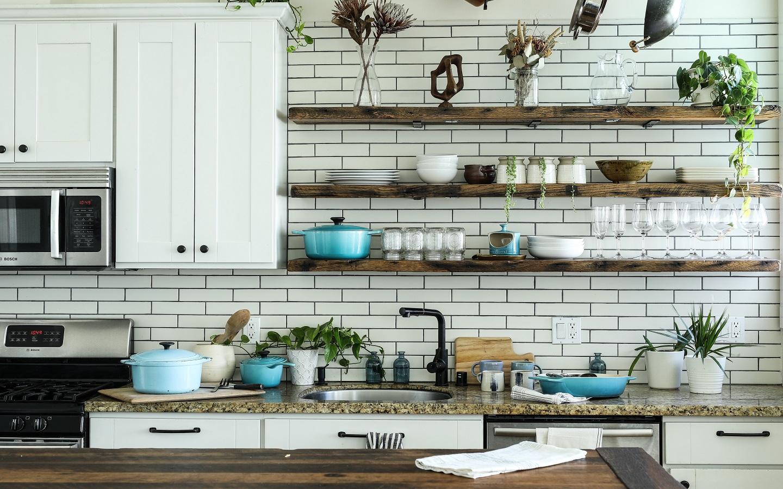 cocina diseño de interiores restaurante