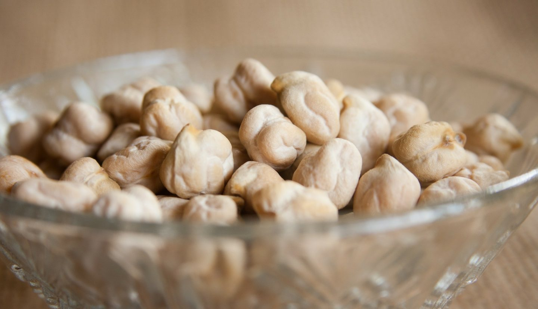 garbanzos crudos calcio comida vegana