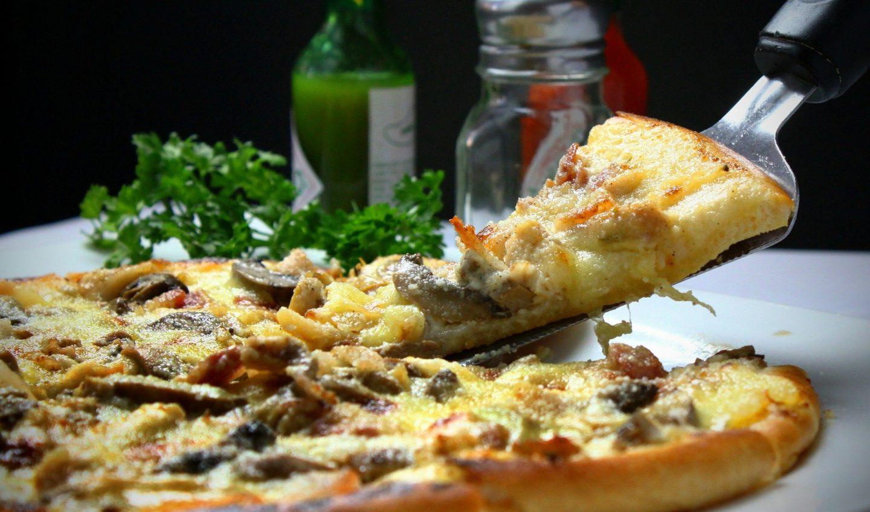 calentar pizza en casa
