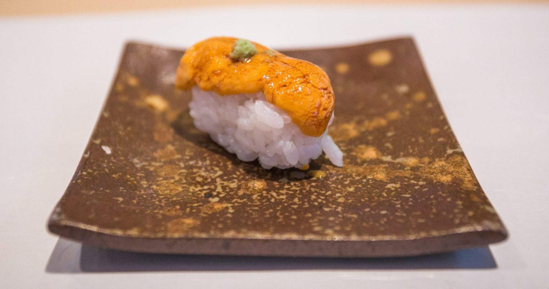 uni sushi de erizo