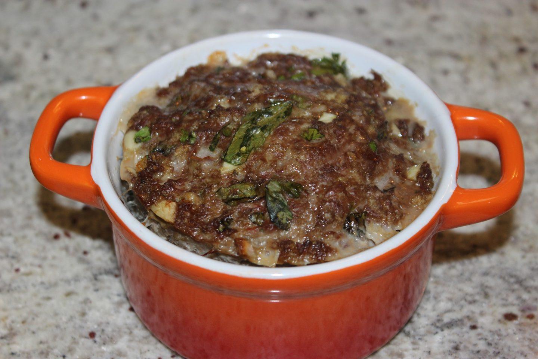 pastel de carne molida cocinar