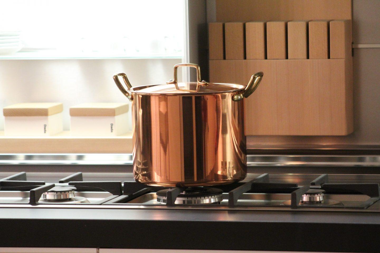 cocinar con cobre