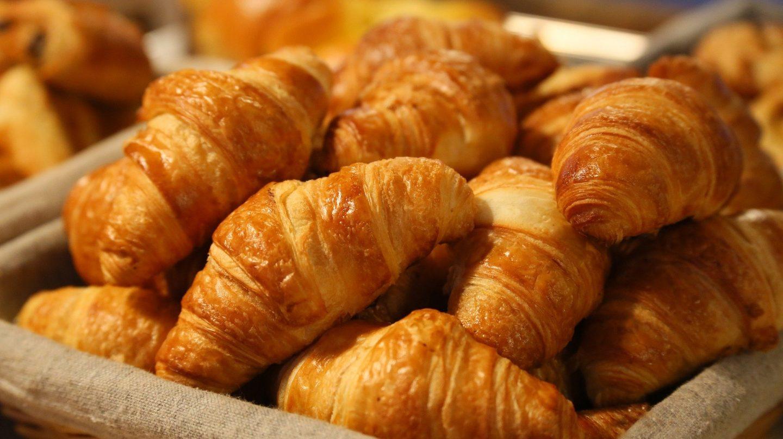pan navidad croissants