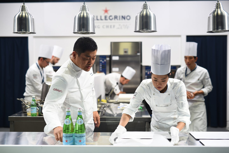 jóvenes chefs