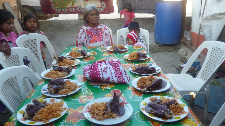 raíz africana comida mexicana
