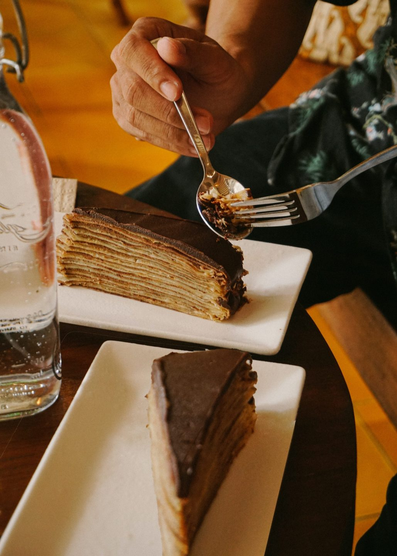 postres sin horno crepe cake