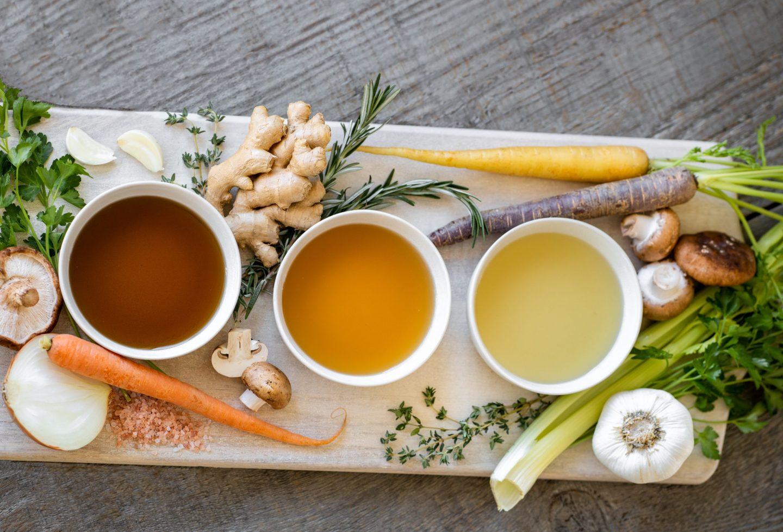 Alternativas saludables cubitos de consomé