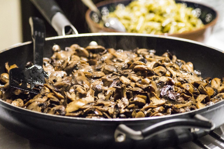 recetas con champiñones fáciles y económicas